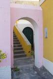 Straat van ventotene Royalty-vrije Stock Foto's