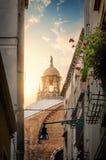 Straat in Venetië Royalty-vrije Stock Foto's