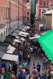 Straat in Venetië Stock Afbeeldingen