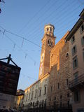Straat in Verona Royalty-vrije Stock Afbeelding