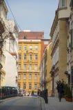 Straat in Wenen stock afbeelding