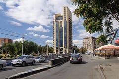 Straat in Yerevan stock foto