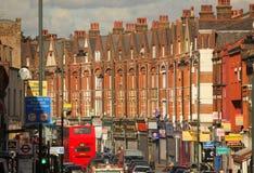 Straat in Zuid-Londen Stock Afbeelding