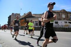 Straatagenten bij de 29ste marathon van Belgrado Royalty-vrije Stock Afbeelding