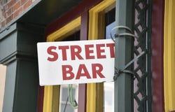 Straatbar voor Alcoholische dranken stock fotografie