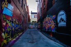 Straatbeelden van Montreal stock afbeeldingen