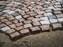 Straatbouw Royalty-vrije Stock Afbeelding
