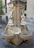 Straatfontein, Barcelona Royalty-vrije Stock Foto