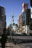 Straatgang in Tokyo Royalty-vrije Stock Afbeelding