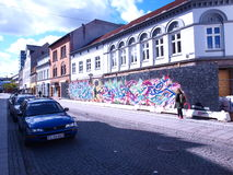 Straatgraffiti Stock Fotografie