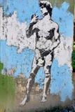 Straatkunst in de buurten van La Boca Stock Foto's