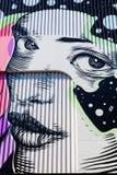 Straatkunst in Heerlen, Nederland Stock Foto's