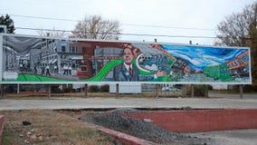 Straatkunst in Joplin MO Royalty-vrije Stock Afbeeldingen
