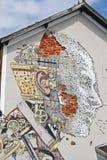 Straatkunst in Lissabon Portugal Stock Fotografie