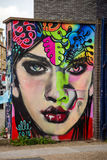 Straatkunst in Londen stock foto