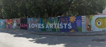 Straatkunst in Miami Stock Afbeelding