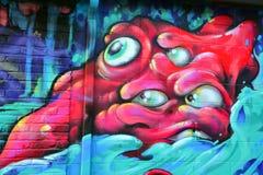 Straatkunst Montreal Royalty-vrije Stock Foto