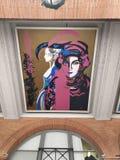 Straatkunst toulousr royalty-vrije stock fotografie