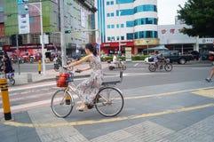 Straatlandschap Stock Fotografie