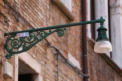 straatlantaarn Royalty-vrije Stock Fotografie