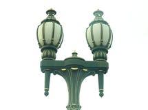 Straatlantaarn met halogeenlamp Royalty-vrije Stock Afbeelding