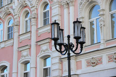 Straatlantaarn in Nizhny Novgorod Stock Afbeelding