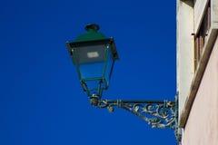 Straatlantaarn in Portugal Vintegaestijl Royalty-vrije Stock Afbeelding