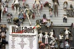 Straatlevensstijl in Milaan, Italië Stock Afbeelding