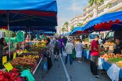 Straatmarkt Stock Afbeeldingen