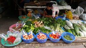 Straatmarkt Stock Foto's