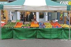 Straatmarkt Royalty-vrije Stock Foto's