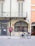 Straatmarkt in Cremona, Italië Stock Foto