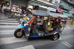 Straatmening in Bangkok Stock Foto
