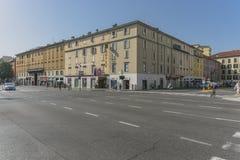 Straatmening, Bergamo, Italië Royalty-vrije Stock Afbeeldingen