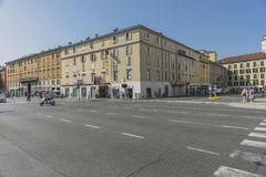 Straatmening, Bergamo, Italië Royalty-vrije Stock Afbeelding