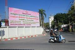 Straatmening in Chiang Mai, Thailand Stock Foto's