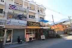 Straatmening in Chiang Mai, Thailand Stock Foto