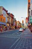 Straatmening in Chinatown van de PA van Philadelphia Stock Fotografie
