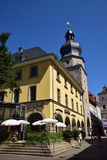 Straatmening in Cobourg, Duitsland Royalty-vrije Stock Fotografie