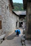 Straatmening in de stad China van Tianlong Tunbao Stock Afbeeldingen