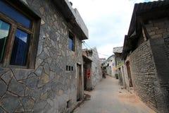 Straatmening in de stad China van Tianlong Tunbao Royalty-vrije Stock Fotografie