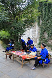 Straatmening in de stad China van Tianlong Tunbao Stock Foto