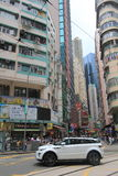 Straatmening in Hong Kong Causeway Bay royalty-vrije stock afbeelding