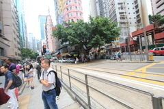 Straatmening in Hong Kong Causeway Bay royalty-vrije stock fotografie