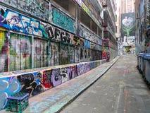 Straatmening in Melbourne, Australië Stock Foto