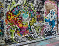 Straatmening in Melbourne, Australië Royalty-vrije Stock Afbeeldingen