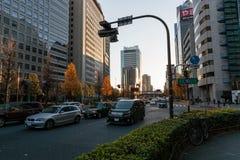 Straatmening in Shinjuku-district stock foto