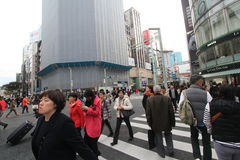 Straatmening in Tokyo Royalty-vrije Stock Afbeelding