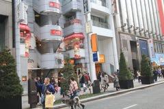 Straatmening in Tokyo Royalty-vrije Stock Afbeeldingen