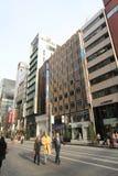 Straatmening in Tokyo Stock Afbeeldingen
